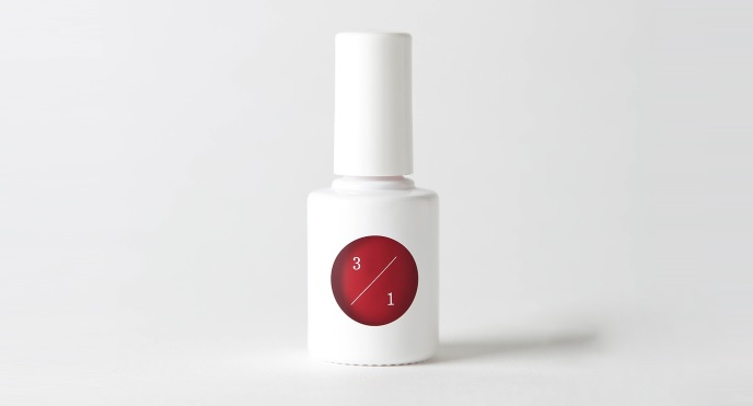 ネイルカラー「uka red study one 3/1」