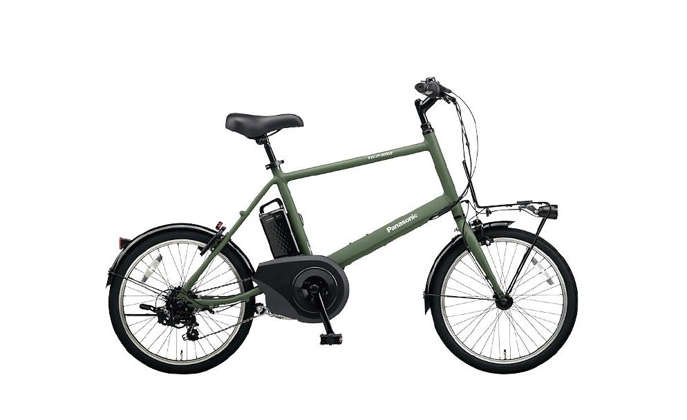 電動アシスト自転車「パナソニック ベロスター・ミニ」